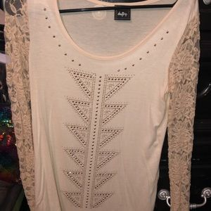 CUTE DayTrip lace top from Buckle